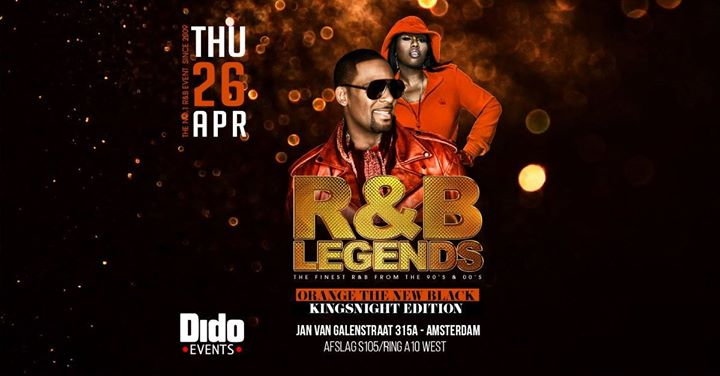 R&B Legends  Kingsnight