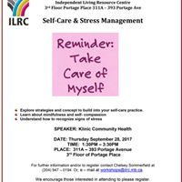 Self-Care &amp Stress Management