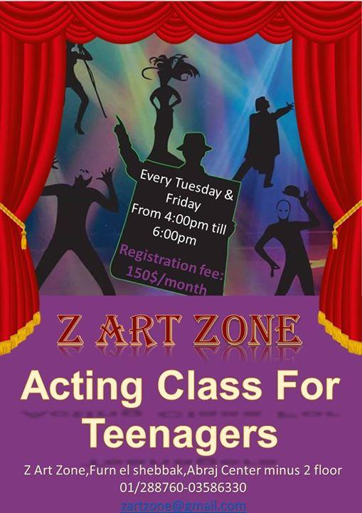 Pre-Acting Class ( for teenagers between 12-16)