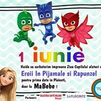 Eroii in Pijamale si Rapunzel la MaBebe  1 iunie