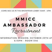 Ambassador Recruitment Info Session