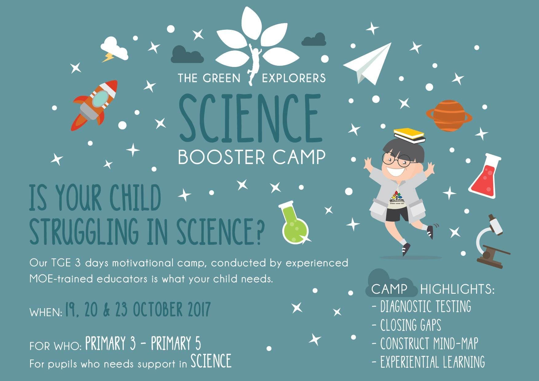 TGEs Science Booster Camp