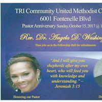 Appreciating Our Pastor Dr Angela D. Washington