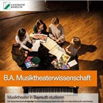 Musikwissenschaft Universität Bayreuth