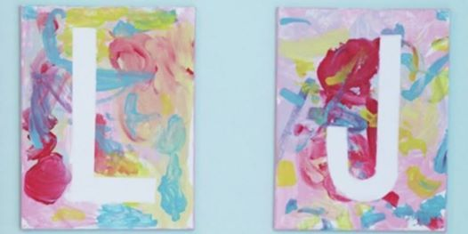 11 21 abstract initial painting ages 2 up at charm school indiana
