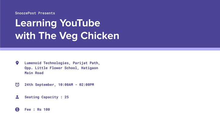 Learning Youtube with The Veg Chicken