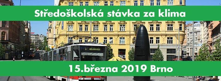 Fridays for Future - BRNO  Stedokolsk stvka za klima