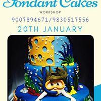 Fondant Cakes Workshop