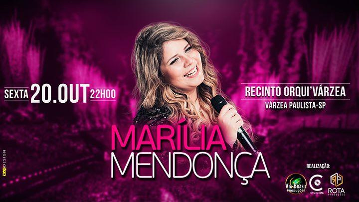 Marlia Mendona Ao Vivo em Vrzea Paulista