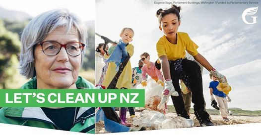 Join Eugenie Sage in cleaning up Lyttelton Harbour