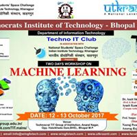 Workshop on Machine Learning in association with IIT Kharagpur