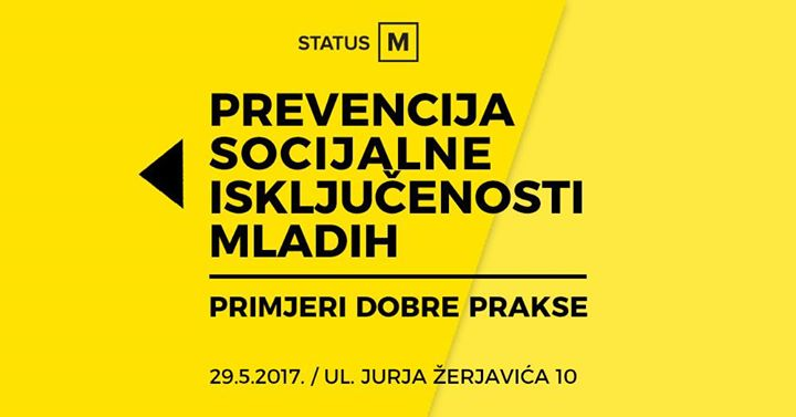 Prevencija socijalne iskljuenosti mladih primjeri dobre prakse
