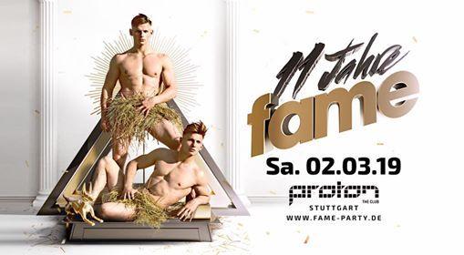 11 Jahre fame  Sa 02.03  proton the club