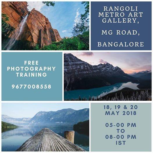 Free Basic Photography Training Exhibition & Competition