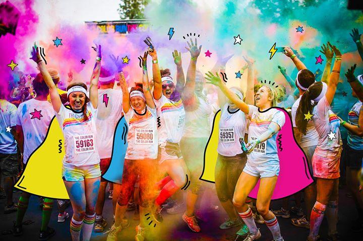 The Color Run 5k Dallas