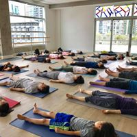 Evening yoga by Tomo at 5pm on Tue Aug 22