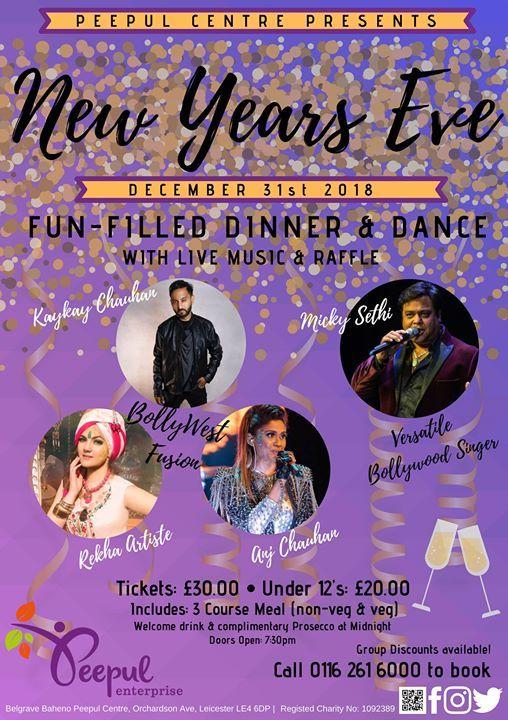 New Years Eve Dinner & Dance 2018