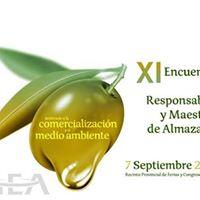 XI Encuentro de Responsables y Maestros de Almazara