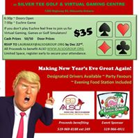 Trump in the New Year Euchre Party &amp Gaming Night