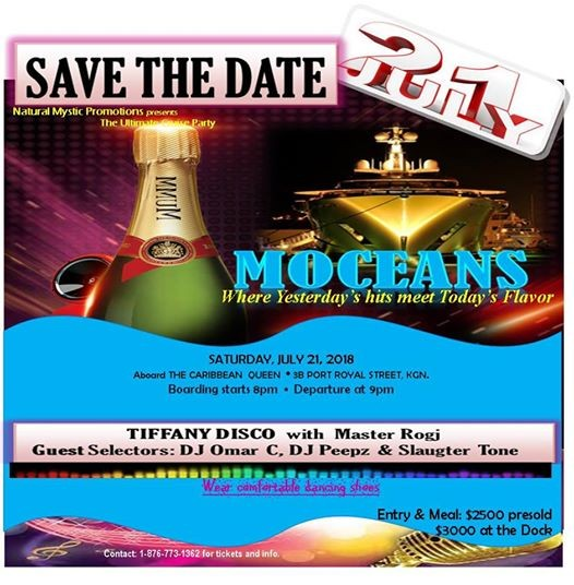 MOCEANS Cruise Party at Caribbean Queen1 Port Royal Street