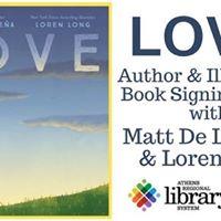 LOVE Book Signing Event with Matt De La Pea &amp Loren Long