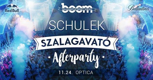 Schulek BOOM Szalagavat Afterparty