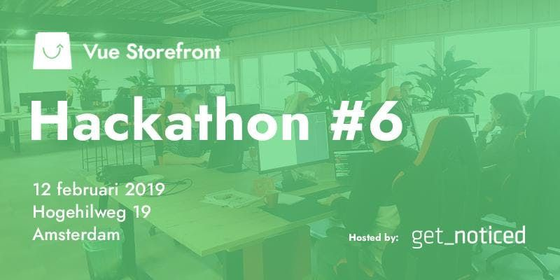 Vue Storefront Hackathon Amsterdam
