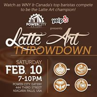 Yelps Latte Art Throwdown