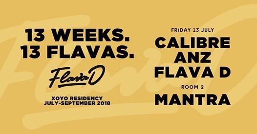 Flava D x Calibre x ANZ x DJ Mantra