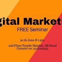 Free Seminar on Digital Marketing