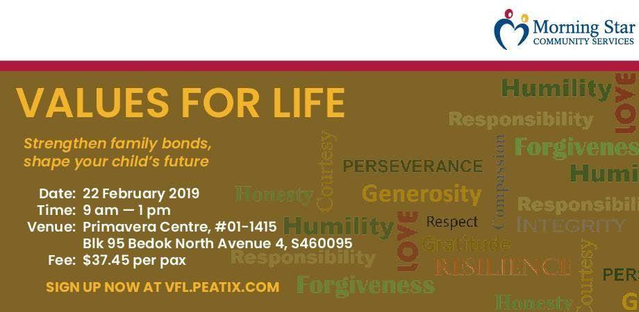 Values for Life Parenting Workshop
