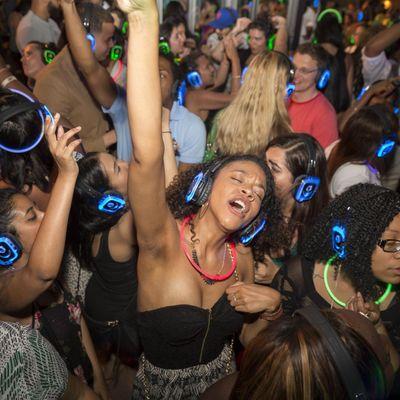 DTLA Quiet Clubbing Outdoor BLOC Party