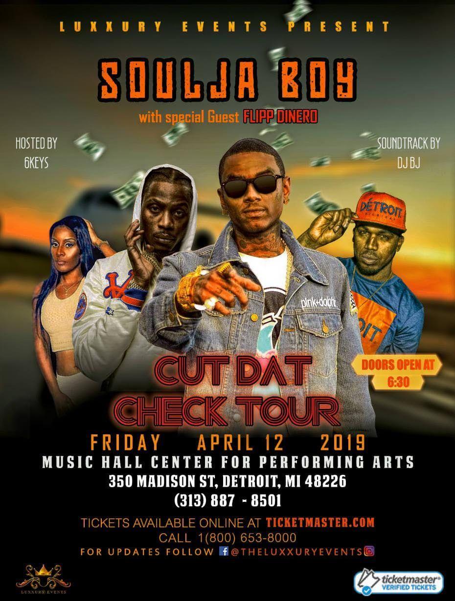 Soulja Boy Cut The Check Tour Meet and Greet