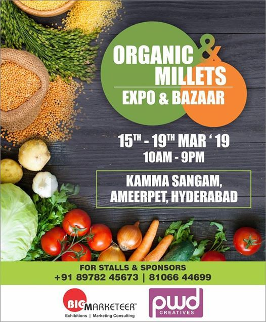 Organic & Millets Expo and Bazaar