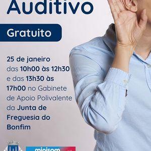 Rastreio auditivo gratuito