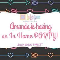 Amanda Albers In Home LuLaRoe Party