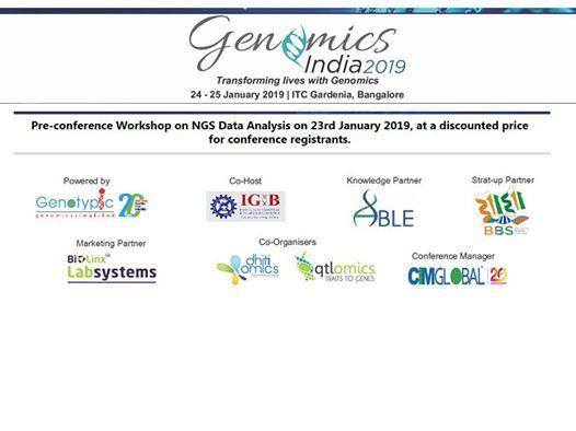 Genomics India 2019
