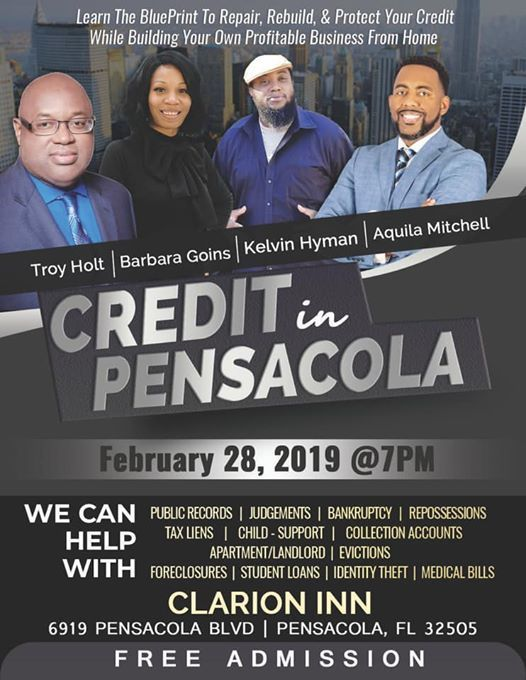 The Power of Credit Pensacola Launch at Clarion Inn, Florida