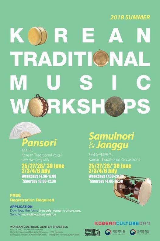 Korean Traditional Music Workshops