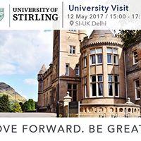 University Of Stirling at SI-UK Delhi