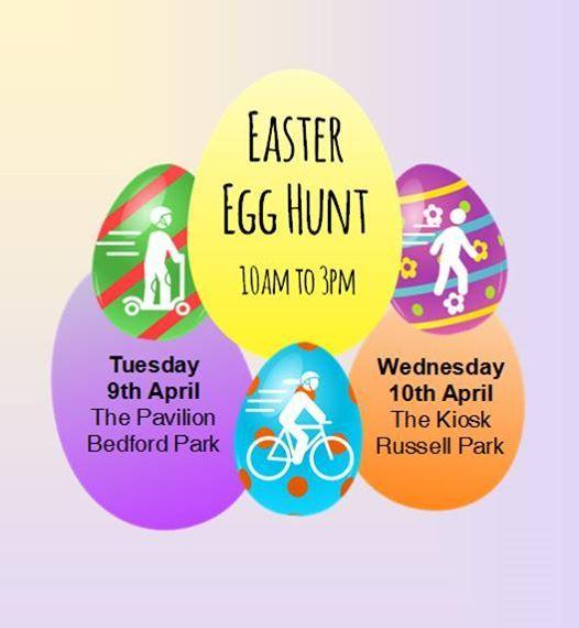 Easter Egg Hunt Russell Park