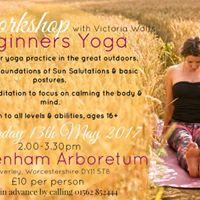 Beginners Yoga Workshop With Victoria Waits