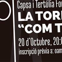 Capsa i Tertlia Formativa amb La Tornada &quotCom Trovar Concerts&quot