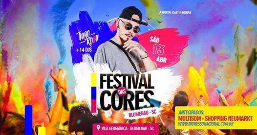 Festival das Cores - Blumenau 1304 as 1400 hrs