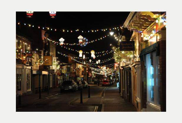Newport Pagnell Christmas Lights   Newport Pagnell