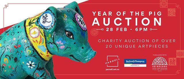 Parnell Little Pigs Live Auction
