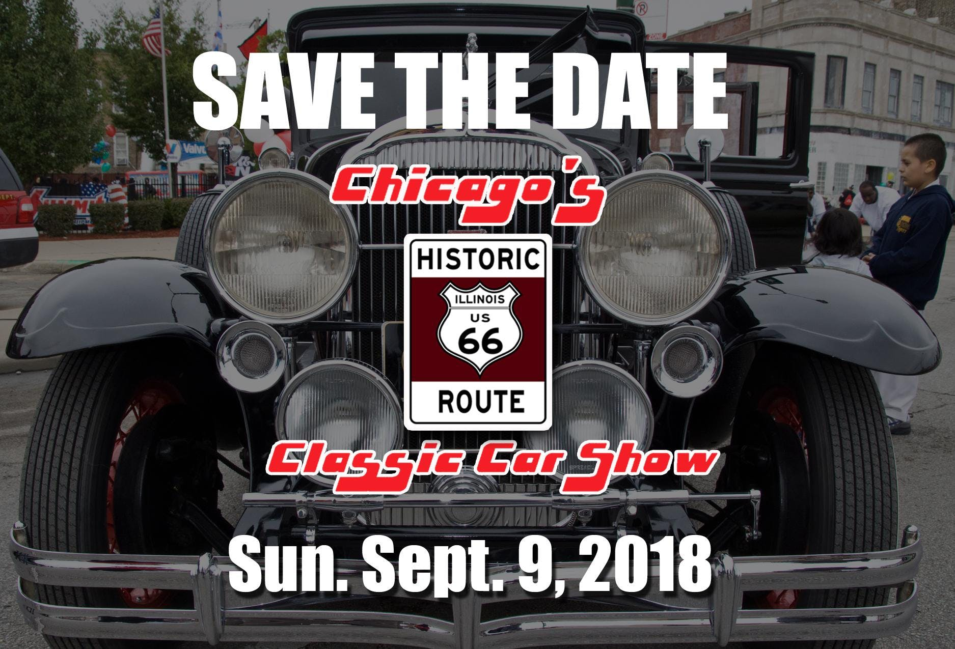 Chicagos Historic Route Classic Car Show At Ogden Ave Chicago - Route 66 classic car show