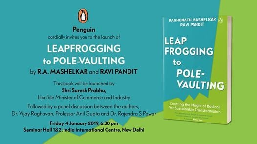 Leap Frogging to Pole-Vaulting Book Launch at India