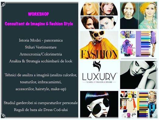 Workshop Consultant de Imagine & Fashion Stylist