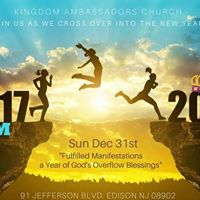 New Years Crossover Service